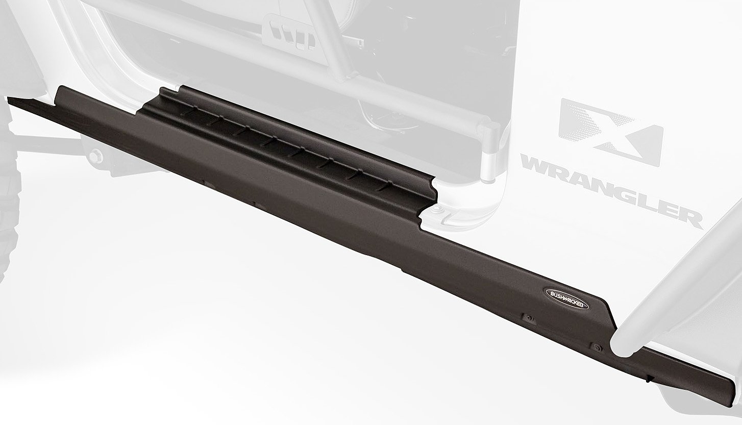 Bushwacker Jeep Trail Armor Rocker Panel & Sill Plate Combo Pair 14011