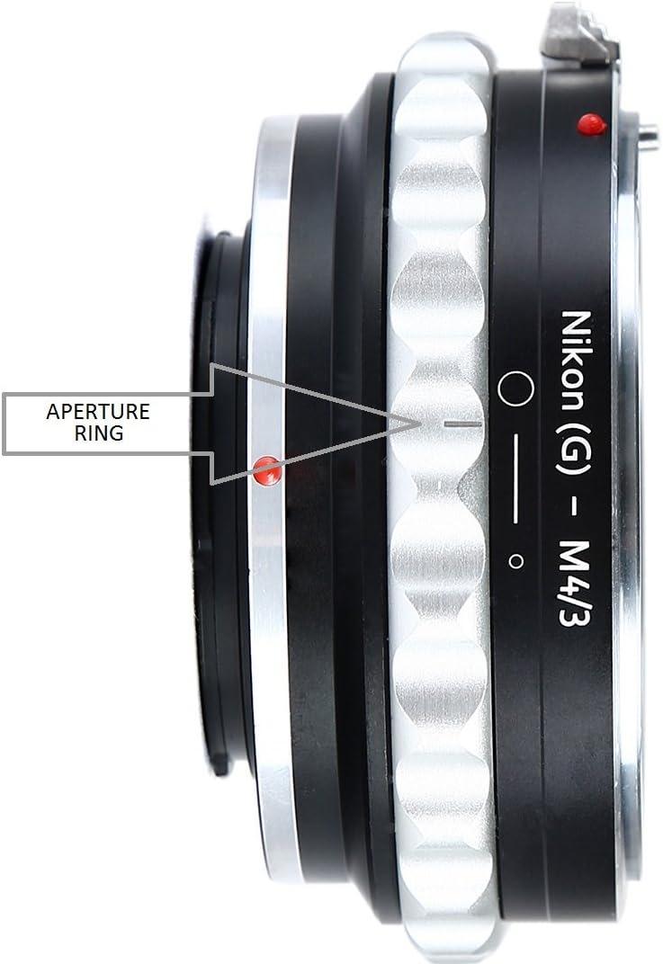 y cuerpos de c/ámara Canon EF /& EF-S G-Type Urth x Gobe Adaptador de Objetivo Compatible con Objetivos Nikon F