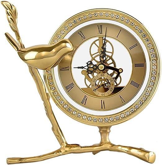 Yuefensu Chiming Clock La decoración del hogar del Reloj del ...