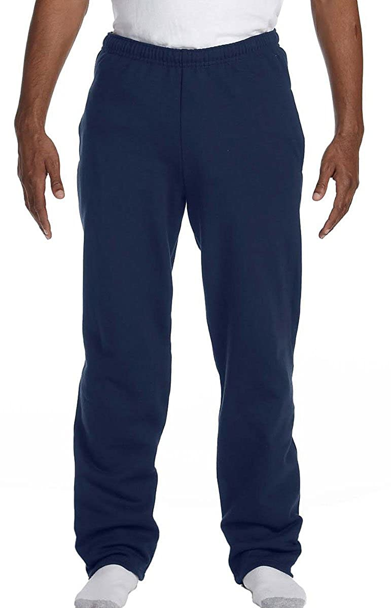 d39a766b69a1ae Fruit of the Loom Adult 8 oz 50/50 Open Bottom Sweatpants at Amazon Men's  Clothing store: