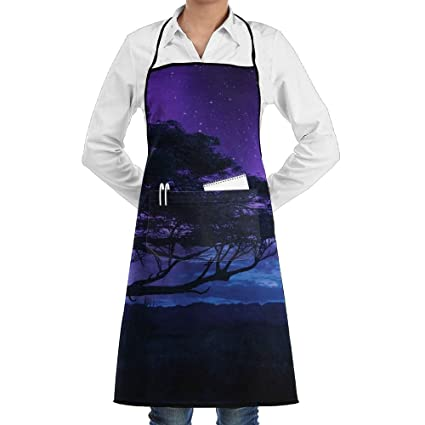 Angry Black Panther Wallpaper Aprons Bib For Mens Womens Vintage String Adjustable Adult Kitchen Waiter