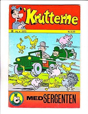 """Krutterne No 4 -1973 - Danish Sad Sack - """"Flying Jeep Cover """""""