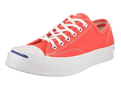 c60b70bf4b7 Converse Unisex Jack Purcell Signature Ox Hyper Orange White White Casual  Shoe 4 Men