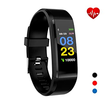 Xnuoyo Fitness Tracker, Activity Tracker with Heart Rate Monitor,Smart Watch with Step Counter