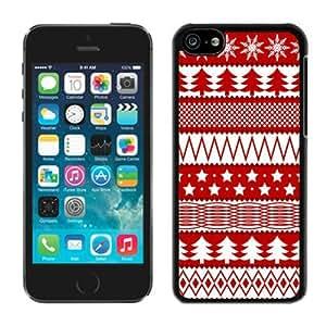Custom-ized Phone CaseIphone 5C TPU Case Merry Christmas Black iPhone 5C Case 27