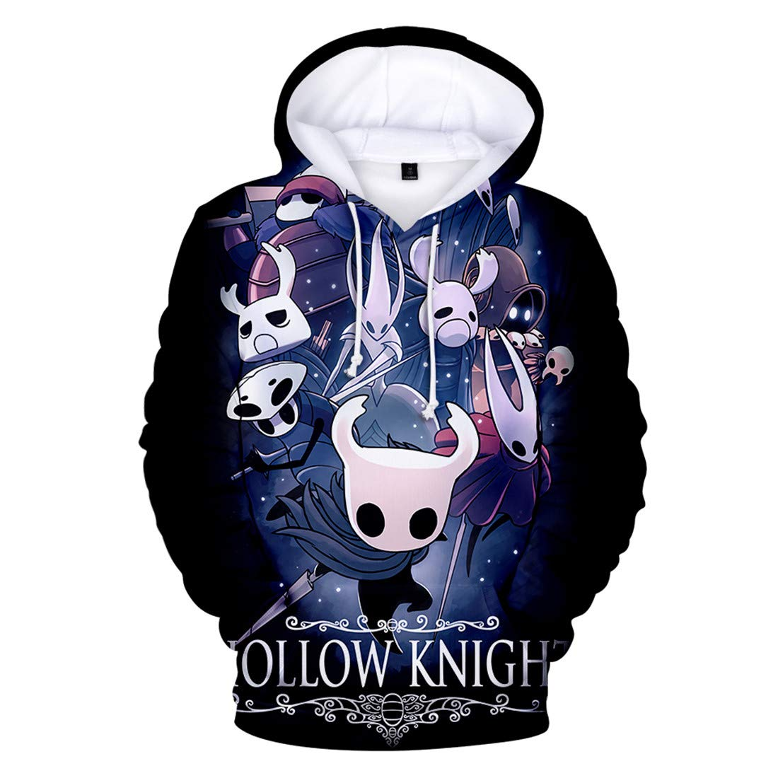 MIYECC Unisex Hollow Knight 3D Printed Hoodie Hot Pullover Game Fans Hooded Sweatshirts