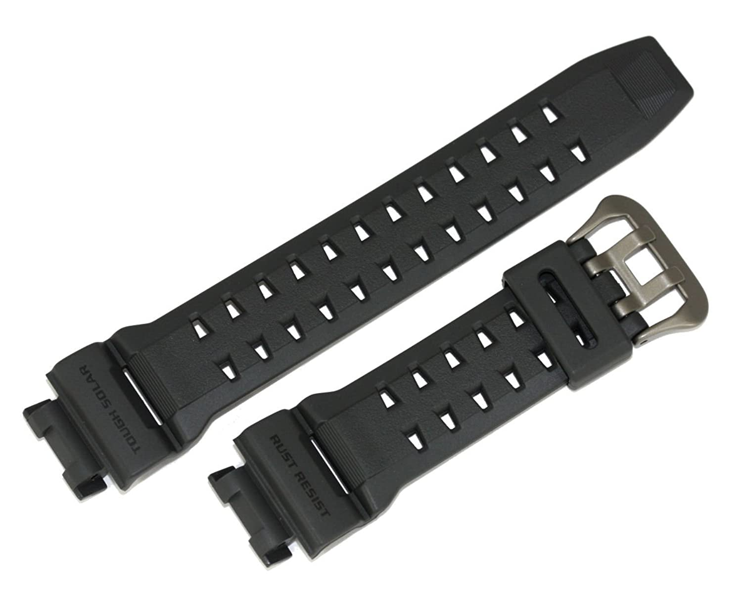 Casio 10395438 Genuine Factory Replacement Resin Band Fits gr-9110gy-1 V  B077PLHVK4