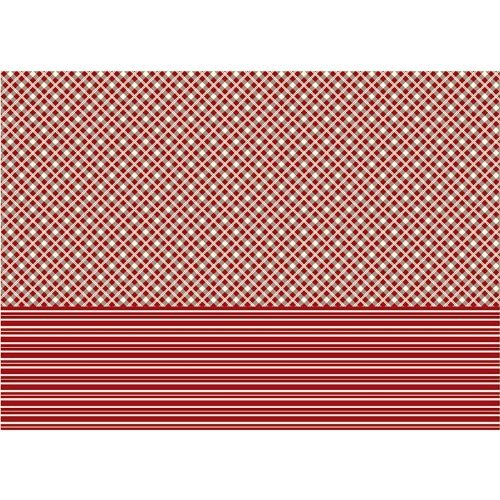 Vivi Gade 25 x 35 cm Copenhagen Checker and Stripes Design Decoupage Paper by Vivi - City Vivi