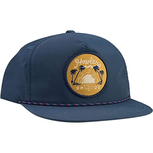 ccf2c902e1ef71 Howler Brothers Script Sunset Unstructured Snapback Hat - Men's Navy Nylon,  One Size