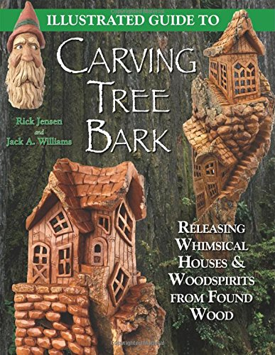 Illustrated Guide to Carving Tree Bark: Releasing Whimsical