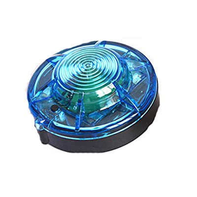 Tumecos Emergency Flare Alert Warning Signal Caution Light LED Beacon Pro with Magnetic Base for Vehicle (Blue 1): Automotive