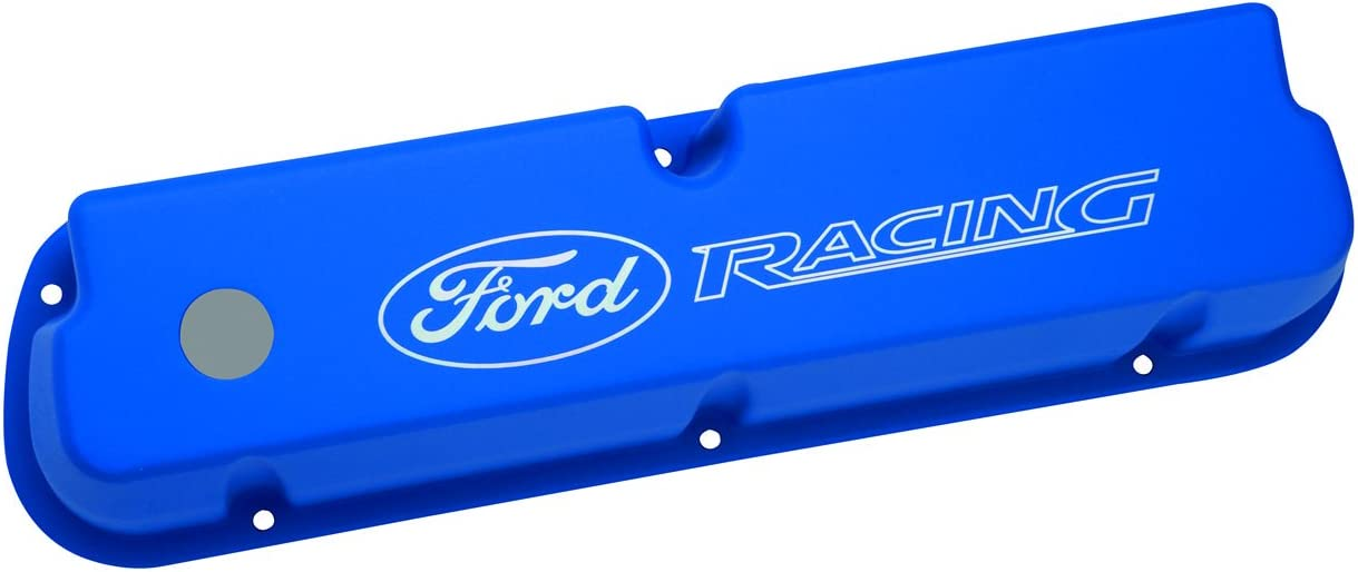 Ford Racing Aluminum Valve Covers M6582LE302BL Ford Small Block V8