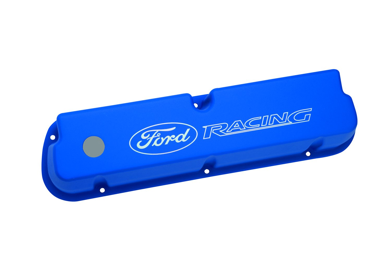 Ford Racing M-6582-LE302BL Blue Laser Etched Aluminum Valve Cover Set by Ford