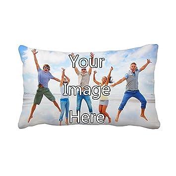 Amazon.com: Jics - Funda de almohada decorativa para sofá ...