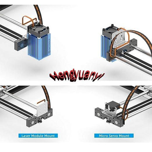 GKDraw X3 DIY Corexy XY GRBL Plotter - Kit de rotulador, máquina de dibujo, robot de escritura, perfecto arte, máquina de escribir CNC, módulo láser, Standard, 1: Amazon.es: Industria, empresas y ciencia