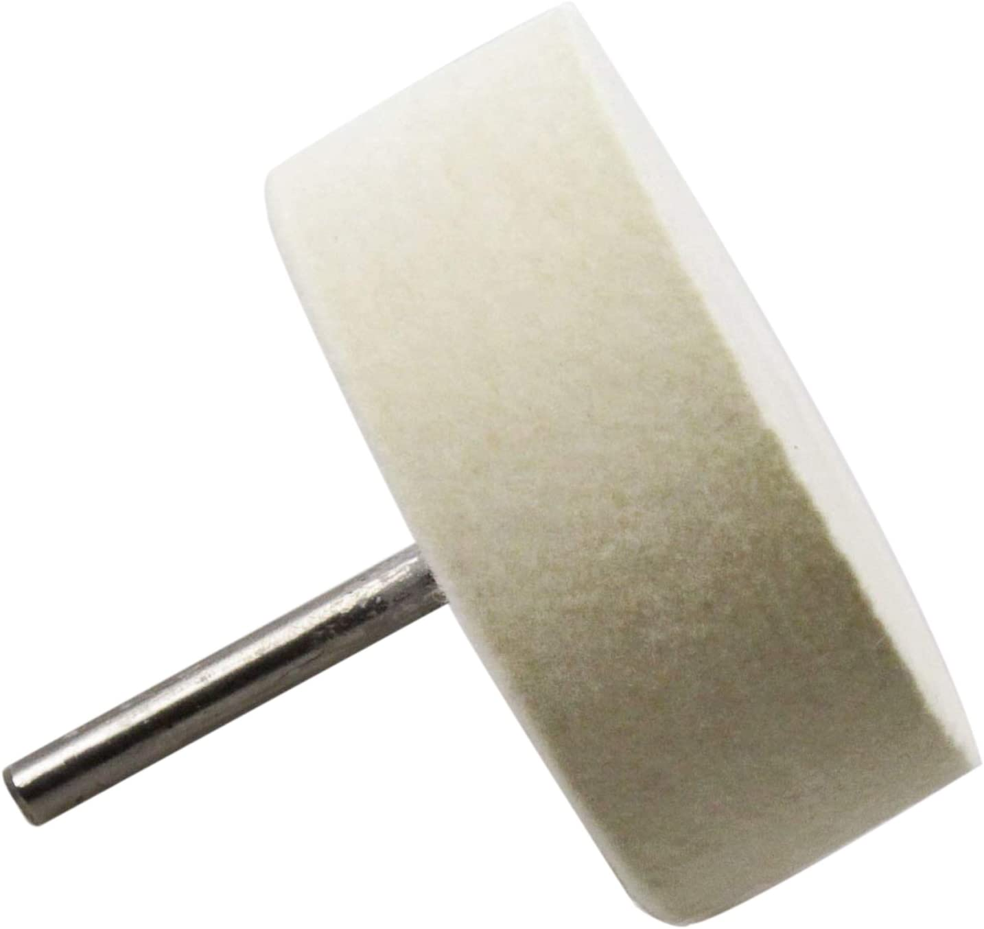 Sutemribor 75mm Felt Polishing Wheel for Use with Cerium Oxide Polishing Powder