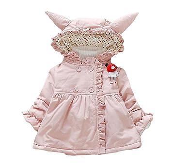 Oyfel Abrigo Chaqueta Parka Resolve Jacket Casaca China Chica Invierno Nieve Polar Otono Rebajas Orejas Nino Nina 90cm: Amazon.es: Hogar