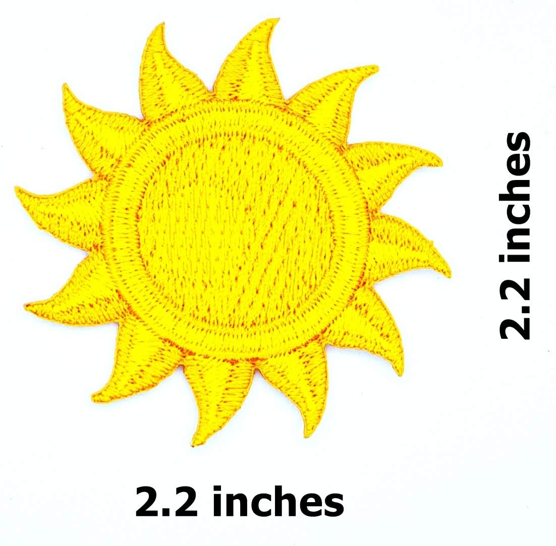 Boys Cool Patches for Men Girls 6 Pcs Delicate Embroidered Patches,Iron On Patches Sew On Applique Patch,Clover Embroidery Patches Women Kids