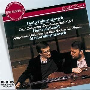 Shostakovich: Cello Concertos / Cellokonzerte Nr. 1 & 2