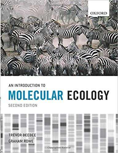 An introduction to molecular ecology amazon trevor beebee an introduction to molecular ecology amazon trevor beebee graham rowe 9780199292059 books fandeluxe Images