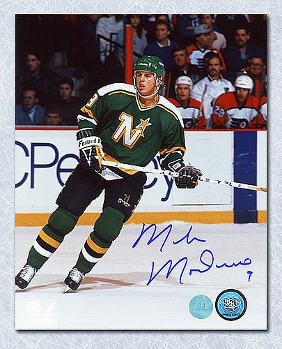 Mike Modano Minnesota North Stars Autographed 8X10 Photo - Signed Hockey  Pictures 69604bd6ca3