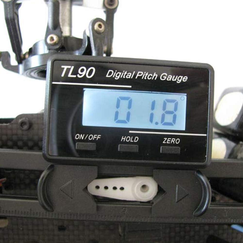 Digital Pitchlehre RC Helicopter Logger Gauge Screw Pitch Gauge Tarot AP90 T-Rex CopterX KDS CP Belt SADA72 Digital Pitch Gauge