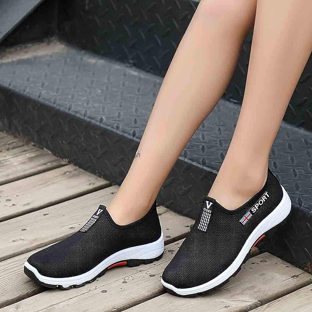 Tefamore Zapatillas para Mujer Casual Zapatos Calzado Deportivo ...