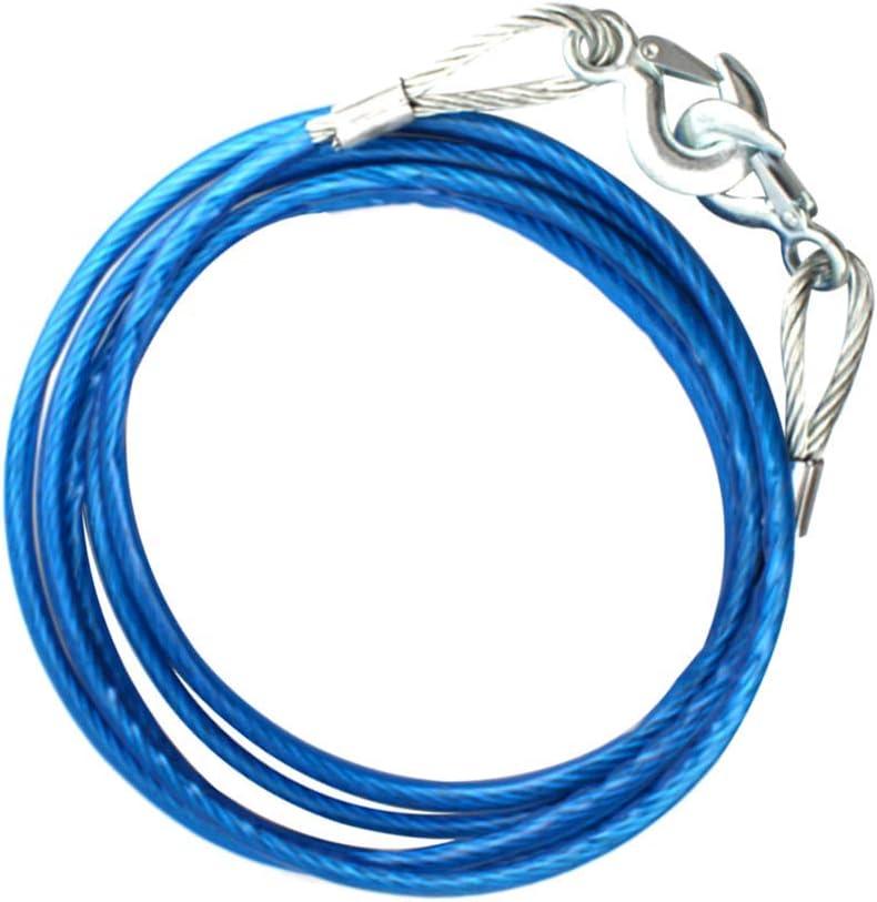 5 m Blau 7 Tonnen Tenlacum Abschleppseil 10 mm Durchmesser Stahl