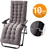 Amazon.com: IsEasy - Cojín para tumbona de patio o chaise de ...