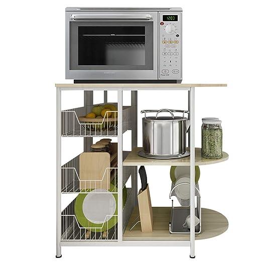 Estantes del horno de microondas Estantes de almacenamiento del ...