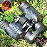Zoostliss Military Optical Binoculars 5000M High Resolution Telescope Rapid Focusing Binoculars with Strap and Bag for Hunting Camping Surveillance Sporting Events Traveling