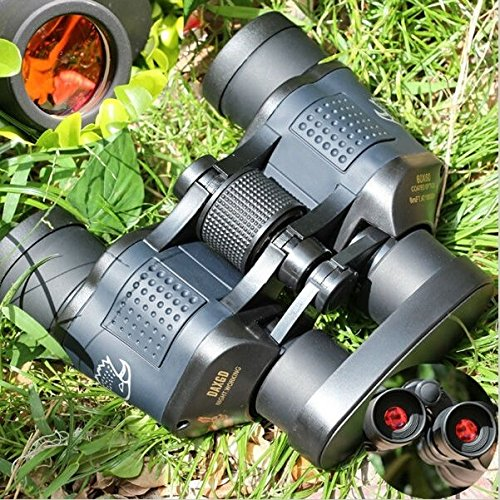 Zoostliss Military Optical Binoculars 5000M High Resolution Telescope Rapid Focusing Binoculars with Strap and Bag for Hunting Camping Surveillance Sporting Events Traveling by Zoostliss