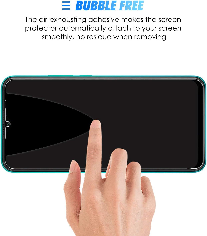 Vidrio Templado Screen Protector con Anti-Burbujas 2-Pack 9H Dureza AROYI Protector Pantalla para Xiaomi Redmi 9, Cristal Templado para Xiaomi Redmi 9 Alta Definici/ón