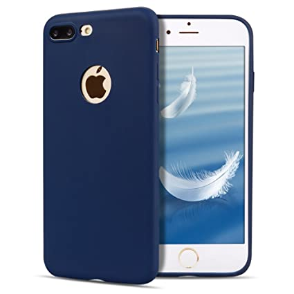 Funda iPhone 7 Plus / 8 Plus , SpiritSun Soft TPU Silicona Handy Candy Carcasa Funda para iPhone 7 Plus / 8 Plus (5.5 Pulgadas) Suave Silicona Piel ...