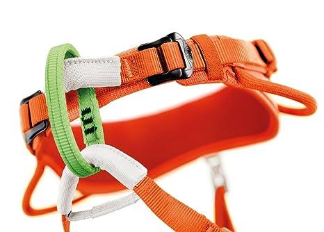 Klettergurt Kinder Mammut : Petzl kinder klettergurte macchu orange one size amazon sport