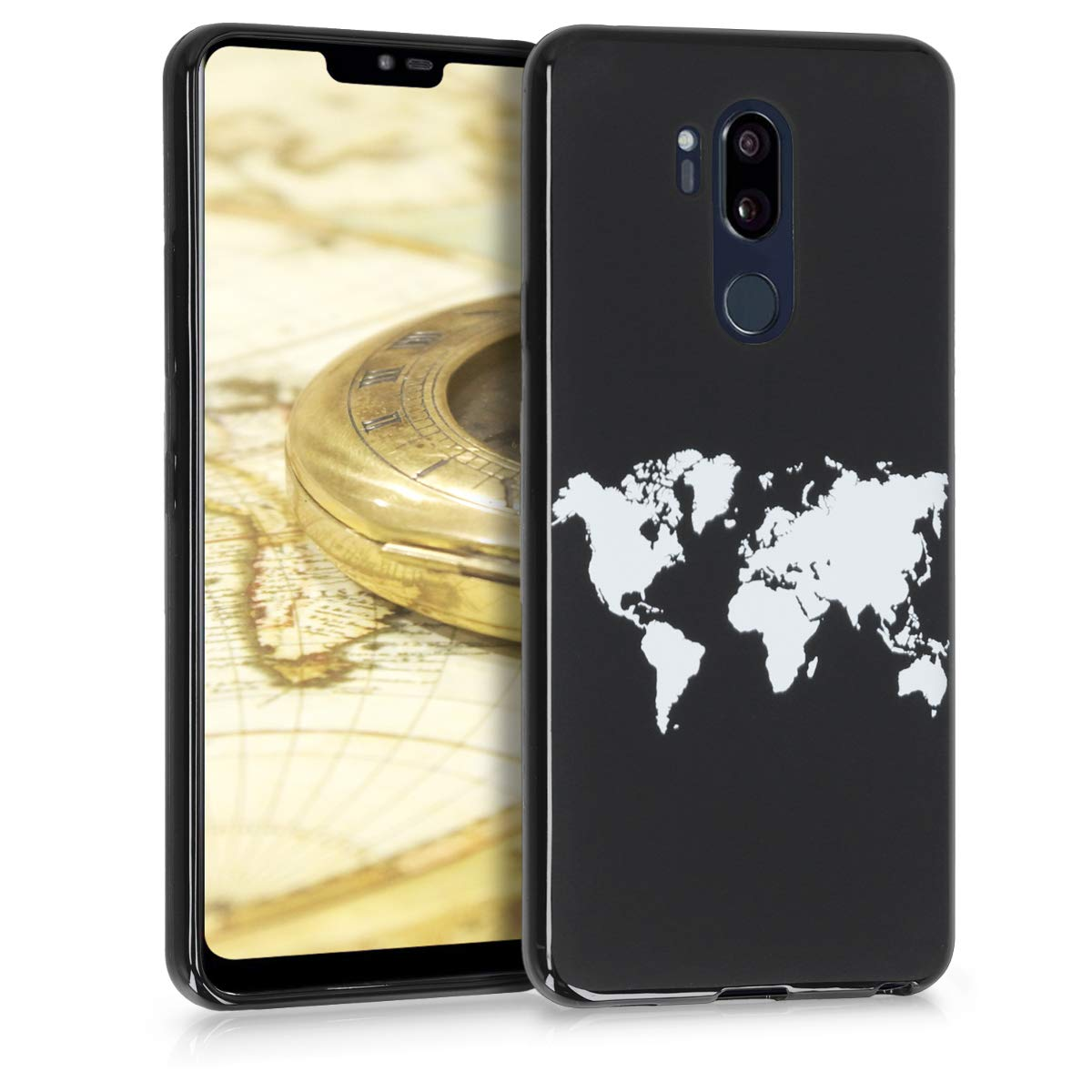 kwmobile Funda para LG G7 ThinQ/Fit/One: Amazon.es: Electrónica