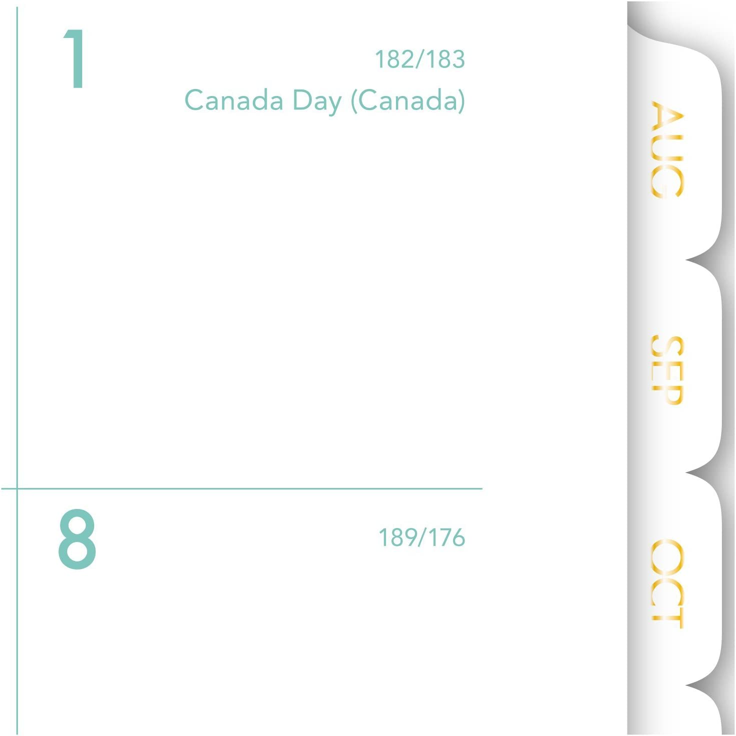 Ombre 8-1//2 x 11 1026-905A Mint AT-A-GLANCE Academic Weekly//Monthly Planner June 2018 July 2017