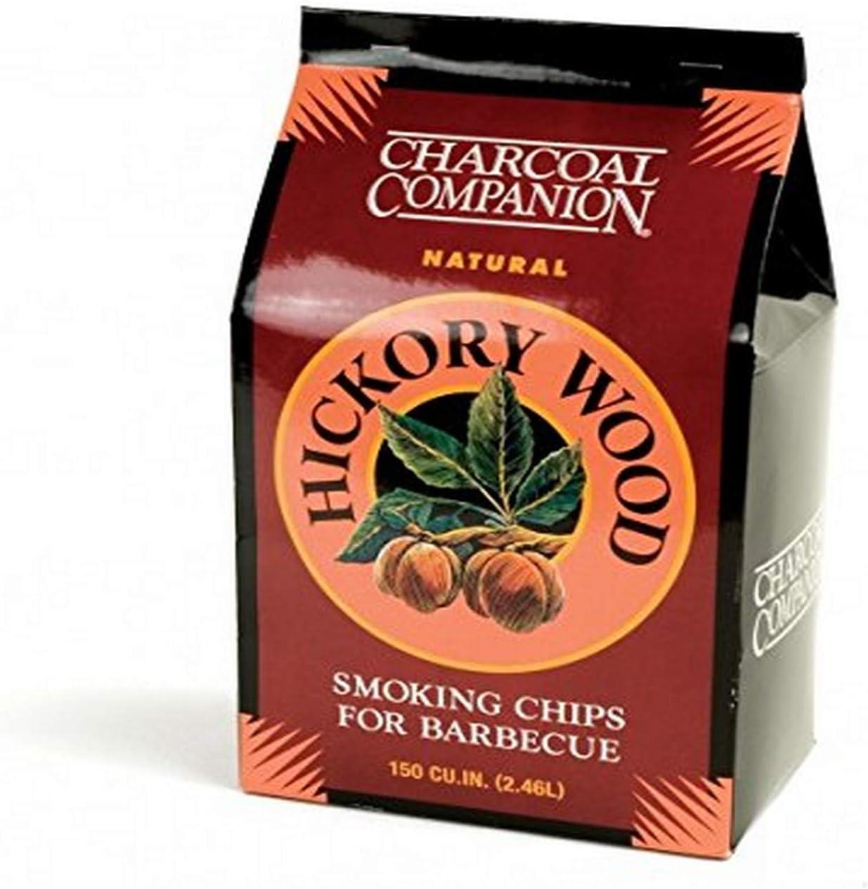 B000I1YBAQ Charcoal Companion Hickory Wood Smoking Chips 616pHMtT68L