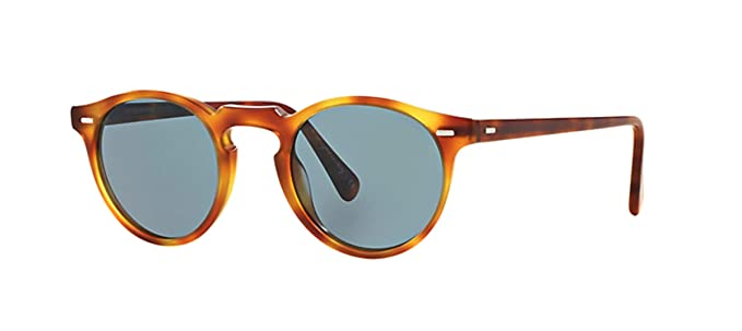 e3f069befe6f Oliver Peoples OV5217S 1483R8 Tortoise Gregory Peck Sun Round Sunglasses  Lens C  Amazon.co.uk  Clothing