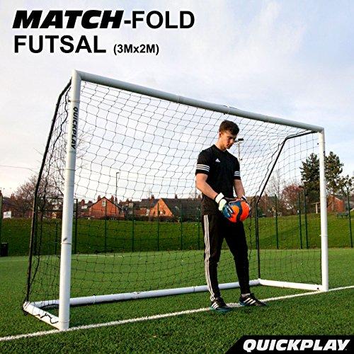 QuickPlay Match-Fold Soccer Goal (3x2M) with 2YR - Goal Futsal
