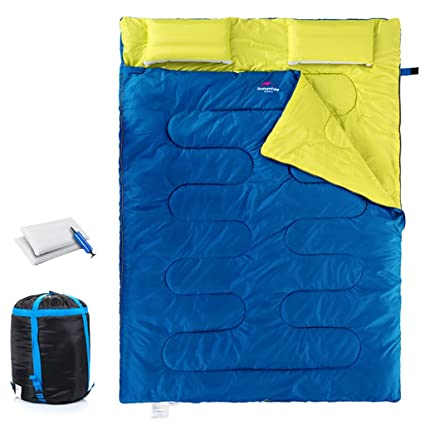ZML Saco de Dormir Ligero del Sobre Ligero, para el Camping Que Va de Excursión