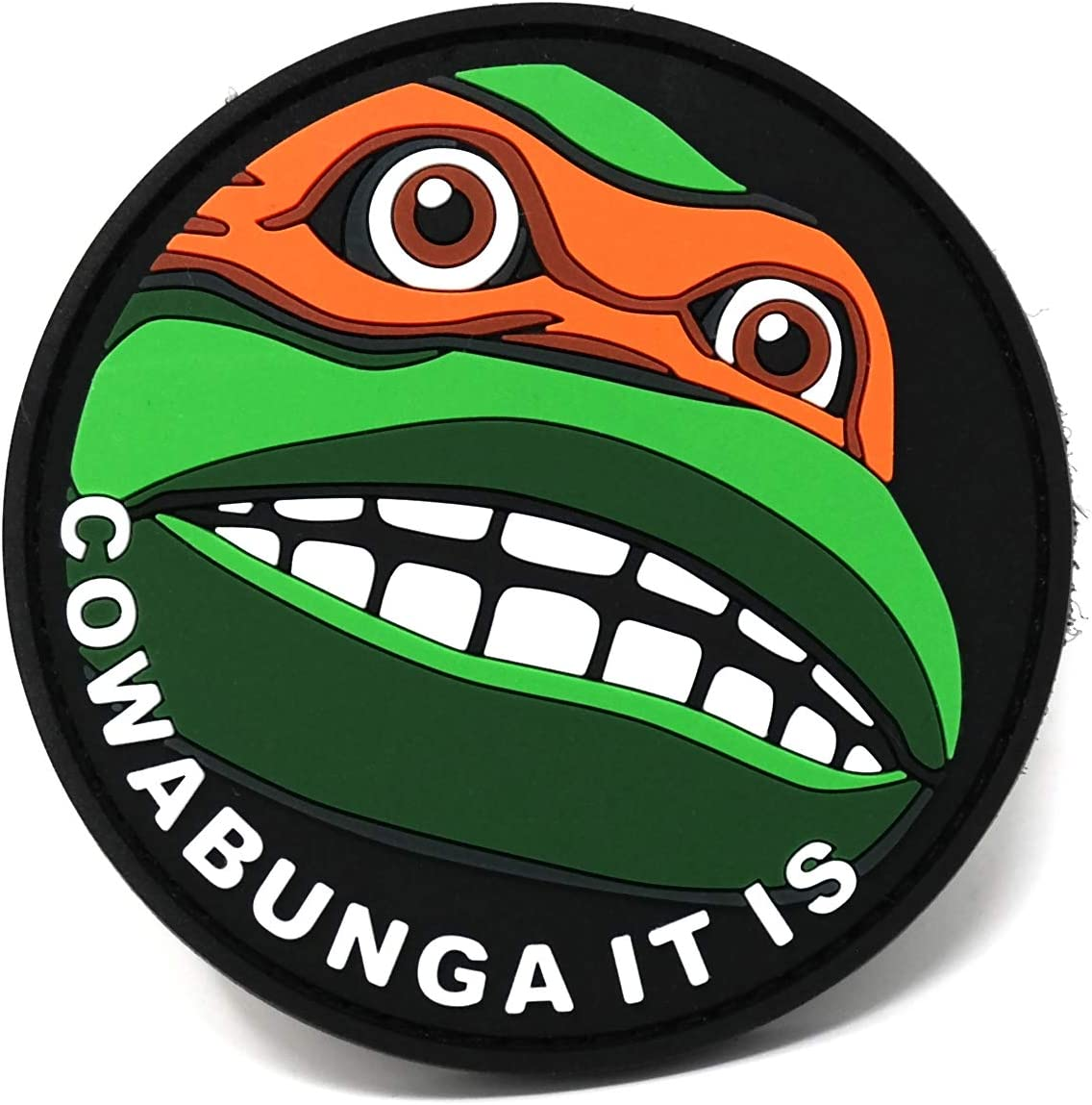 Cowabunga It is PVC Morale Patch | Funny Tactical Patch