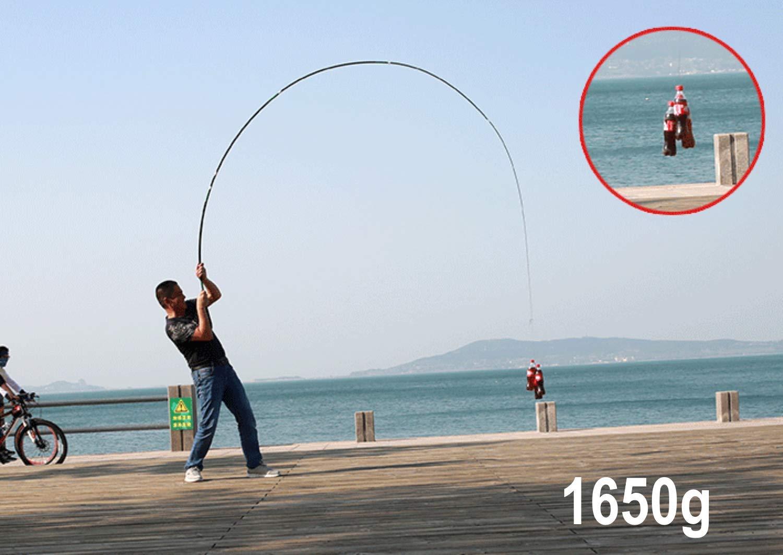 laselectionfishing Angelrute aus Kohlefaser ideal zum Angeln auf Teig chinesische Pfirsich Karpfenangeln