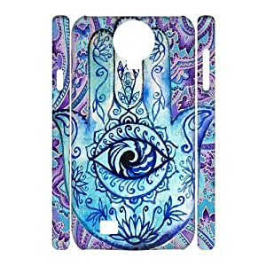 Evil Eye Hamsa Custom 3D Cover Case for SamSung Galaxy S4 I9500,diy phone case ygtg610954 WANGJING JINDA