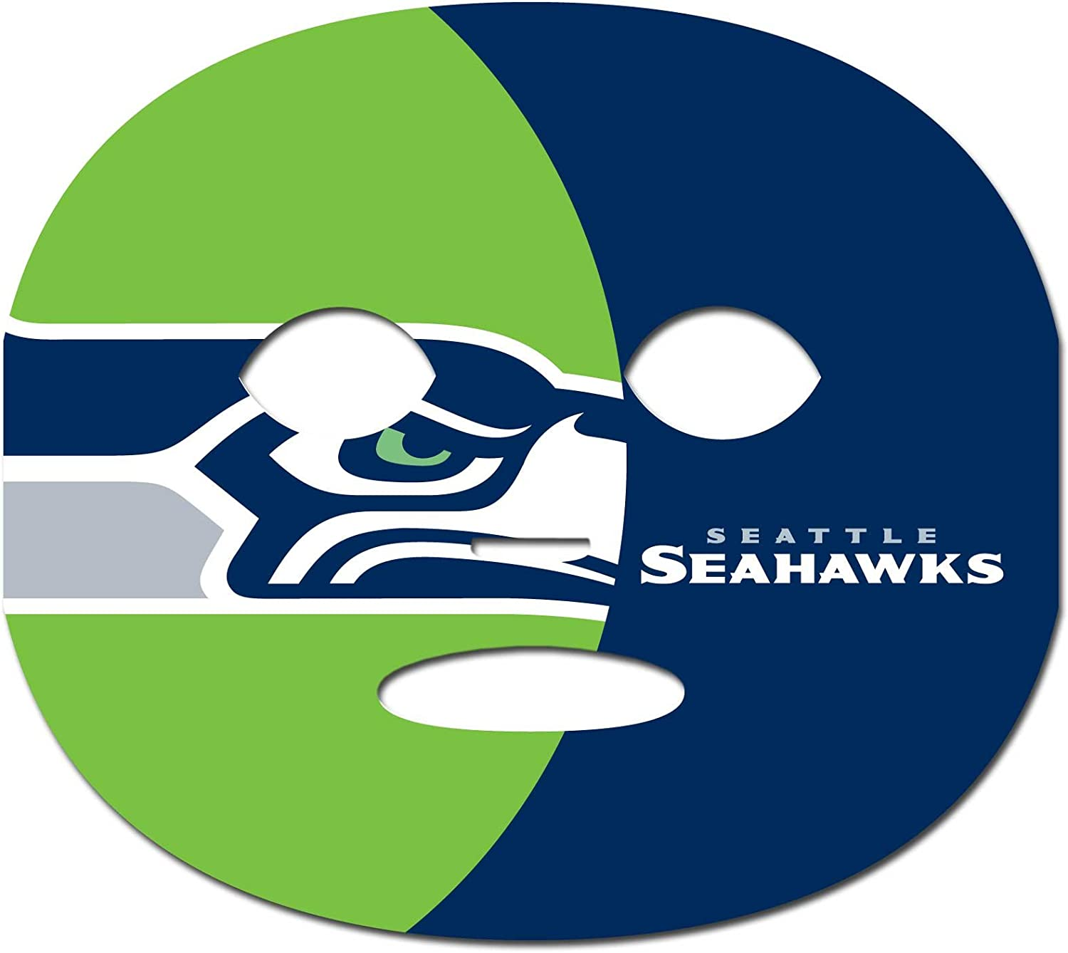 Siskiyou Sports NFL Seattle Seahawks Game Day Face Temporary Tattoo