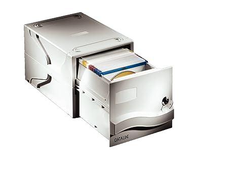 Esselte Cajón archivador para CDs con cerradura, Capacidad para 160 CDs o DVDs, 31