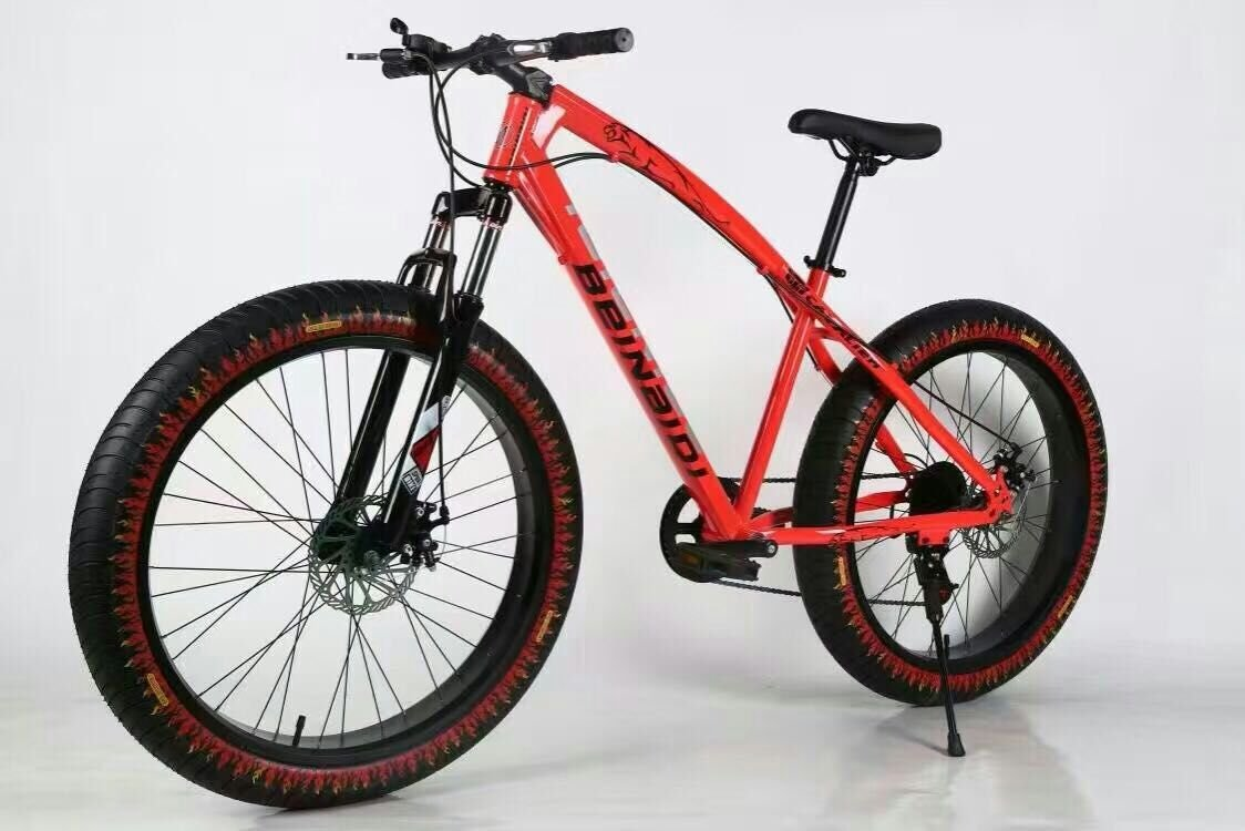 Buy Mankani Fat Tyre Bicycle Cycle With 7 Shimano Gears Online At