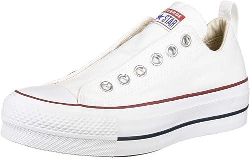 Converse Damen CTAS Lift Low Sneaker Weiss: