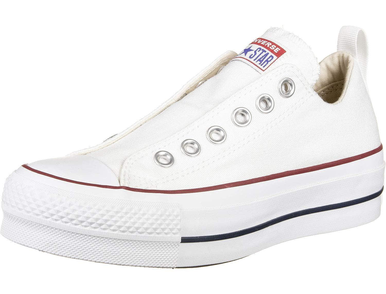 Converse Damen CTAS Lift Low Sneaker Weiss: Amazon.de ...