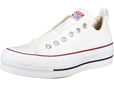 Converse Damen CTAS Lift Low Sneaker Weiss: Amazon.de ...
